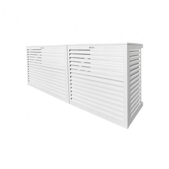 DECOCLIM® - ALU - Blanc - taille S Modèle double latéral