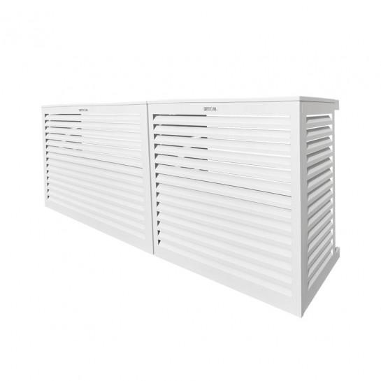 DECOCLIM® - ALU - Blanc - taille M Modèle double latéral