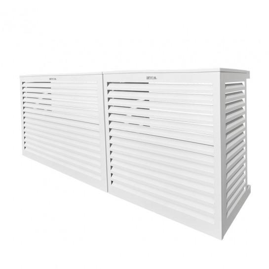 DECOCLIM® - ALU - Blanc - taille L Modèle double latéral